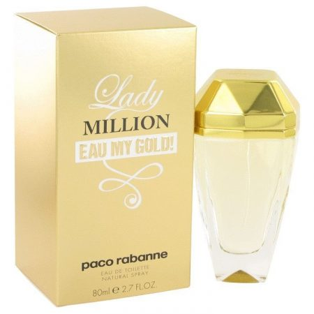 Paco Rabanne Lady Million eau My Gold 2014 EDT 80 ml Női