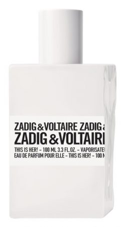 Zadig & Voltaire Zadig & Voltaire This is Her! EDP 100ml Tester női
