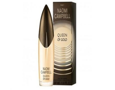 Naomi Campbell Queen of Gold (2013) EDT 15 ml Női