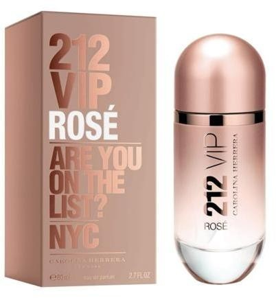 Carolina Herrera 212 VIP Rose EDP 80 ml Női