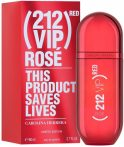 Carolina Herrera 212 VIP Rose Red  lim. ed. EDP 80 ml Női Tester